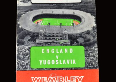 England v Yugoslavia 04.05.1966 (Peters comes in)