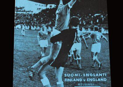Finland v England 26.06.1966