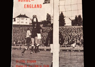 Norway v England 29.06.1966