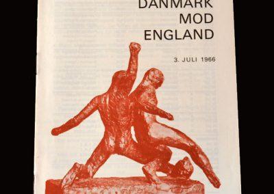 Denmark v England 03.07.1966