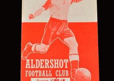 Gateshead v Aldershot 21.09.1959