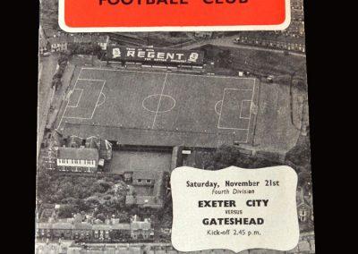 Gateshead v Exeter 21.11.1959