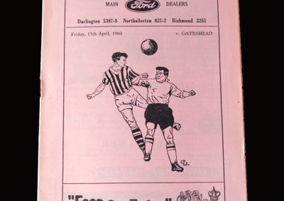 Gateshead v Darlington 15.04.1960