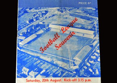 Peterborough v Wrexham 20.08.1960 (1st League Game)