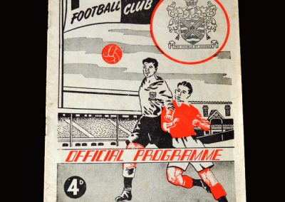 Burnley v Fulham 28.11.1959