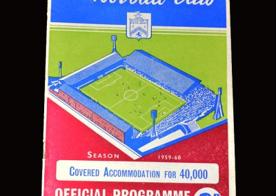 Burnley v Bolton 05.12.1959