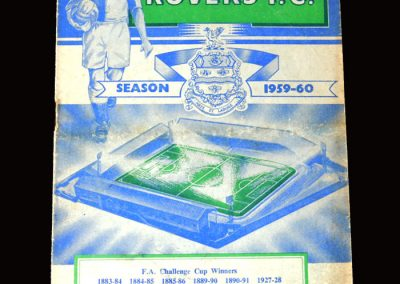 Burnley v Blackburn 16.03.1960 (FA Cup Round 6 Replay)