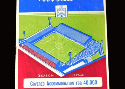 Burnley v Sheff Wed 02.04.1960