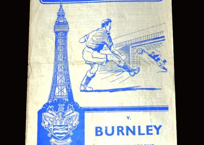 Burnley v Blackpool 23.04.1960