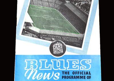 Burnley v Birmingham 27.04.1960