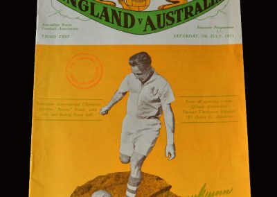 England v Australia 07.07.1951