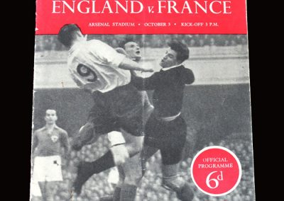 England v France 03.10.1951