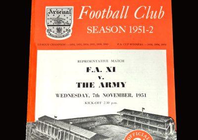 FA 11 v The Army 07.11.1951