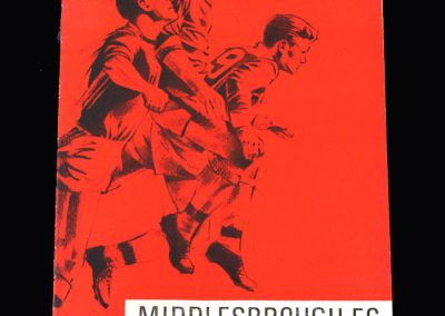 Middlesbrough v Sparta Rotterdam 09.08.1966