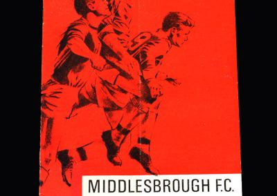 Middlesbrough v Bristol Rovers 27.08.1966