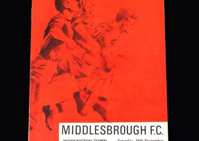 Middlesbrough v Workington 24.09.1966