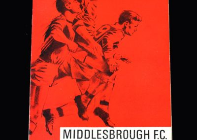 Middlesbrough v Doncaster 29.10.1966