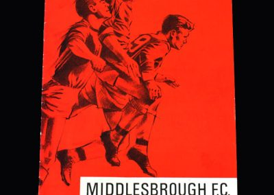 Middlesbrough v Colchester 17.12.1966