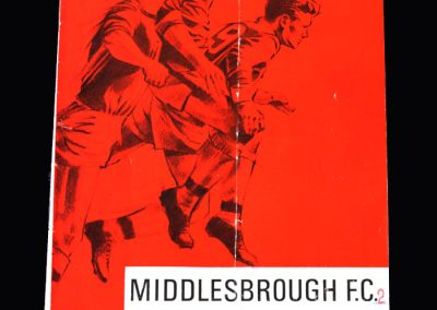 Middlesbrough v Scunthorpe 21.01.1967