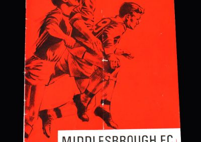 Middlesbrough v Gillingham 11.02.1967