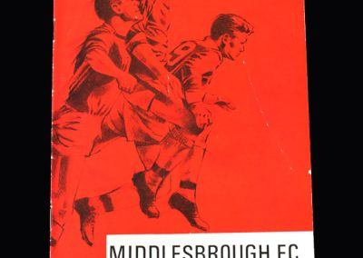 Middlesbrough v Mansfield 01.04.1967