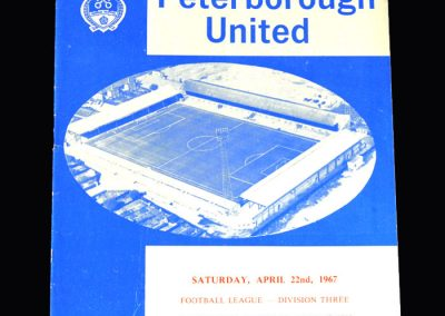 Middlesbrough v Peterborough 22.04.1967