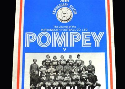 Middlesbrough v Portsmouth 25.08.1973