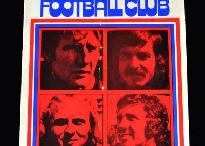 Middlesbrough v Crystal Palace 08.09.1973
