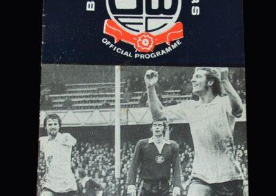 Middlesbrough v Bolton 15.04.1974