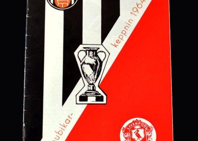 Liverpool v KR Reykjavik 17.08.1964 (1st Euro Game)