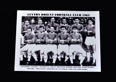 Leyton Orient Team Photo 1963