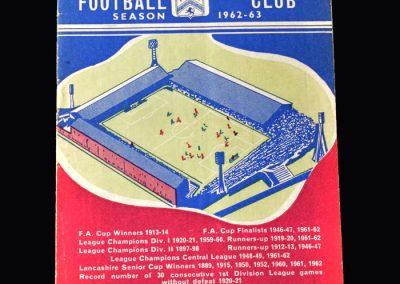 Orient v Burnley 15.09.1962