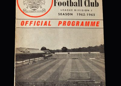 Orient v Fulham 29.09.1962