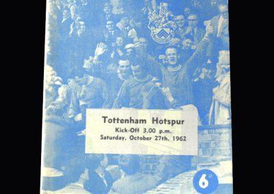 Orient v Spurs 27.10.1962