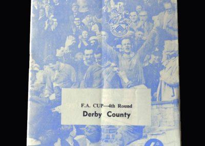 Orient v Derby 04.03.1963 (FA Cup 4th Round)