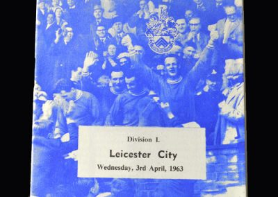 Orient v Leicester 03.04.1963