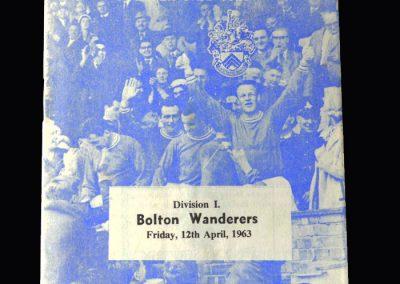 Orient v Bolton 12.04.1963