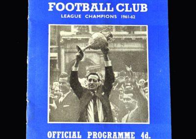 Orient v Ipswich 13.04.1963