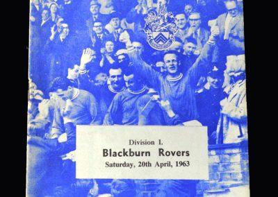Orient v Blackburn 20.04.1963