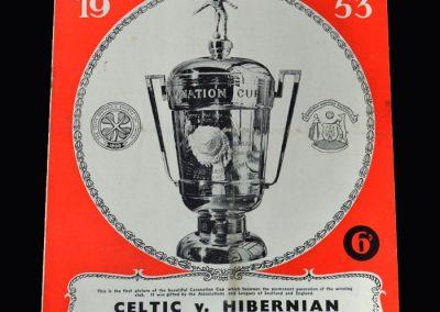 Celtic v Hibs (Hampden Park) 20.05.1953 - Final