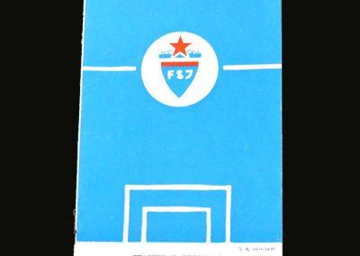 Yugoslavia v England 09.05.1965