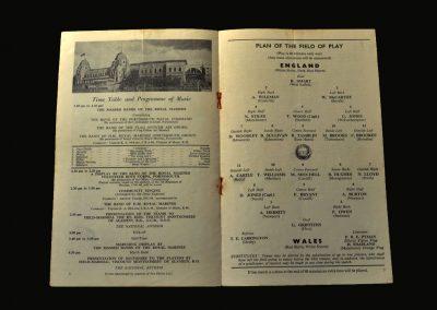 England v Wales 30.03.1957 (Schools)