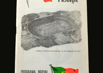 Portugal v France 24.03.1957