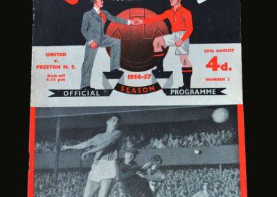 Man Utd v Preston 29.08.1956