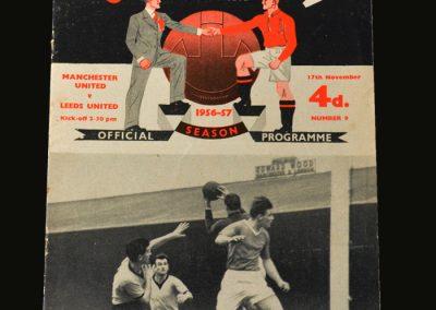 Man Utd v Leeds 17.11.1956
