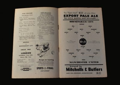 Man Utd v Birmingham 15.12.1956