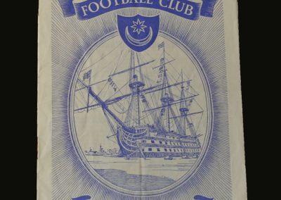 Man Utd v Portsmouth 29.12.1956