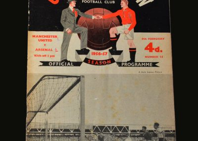 Man Utd v Arsenal 09.02.1957