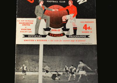Man Utd v Everton 16.02.1957 (FA Cup 5th Round)