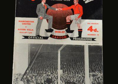 Man Utd v Aston Villa 09.03.1957
